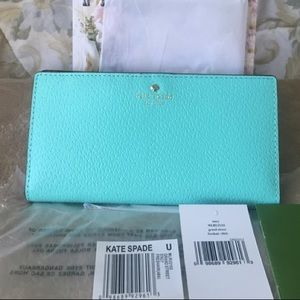 NWT KATE SPADE GRAND STREET STACY WALLET